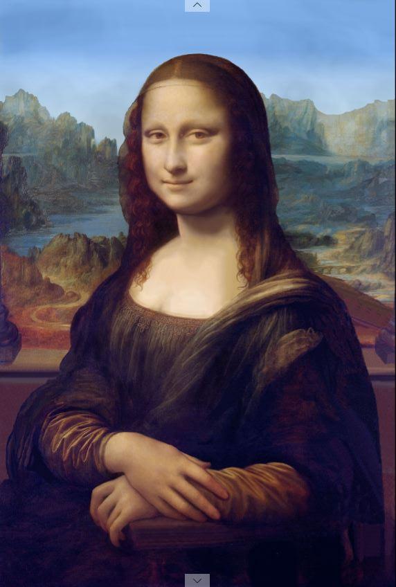 Mona Lisa restored