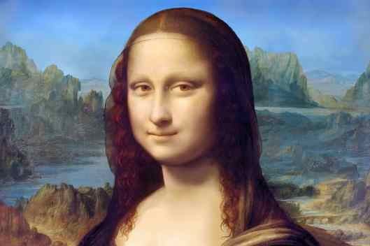 Mona Lisa in Paris, France