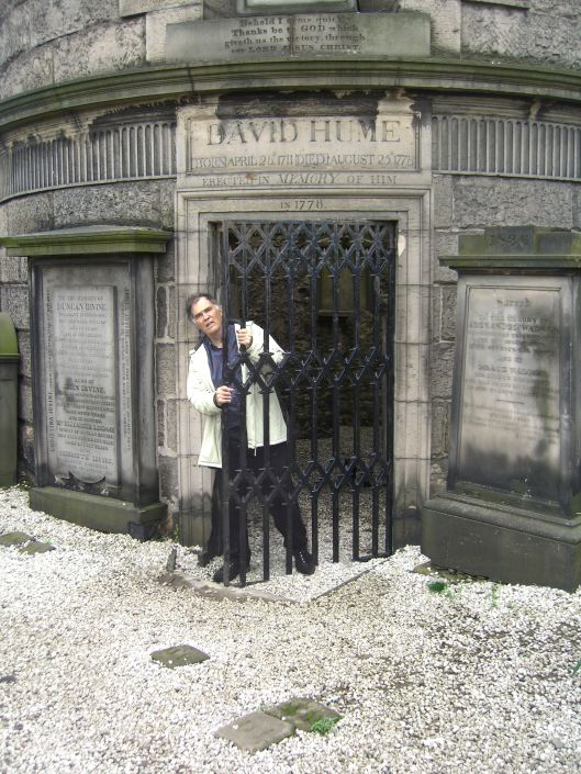 David Hume's tomb Edinburgh, Scotland
