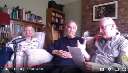 Ahonu & Aingeal Rose interviewing Charles Scamahorn