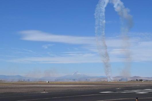 Crash of a Stearman biplane