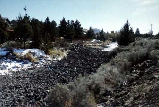 Irrigation canals in Bend, Oregon