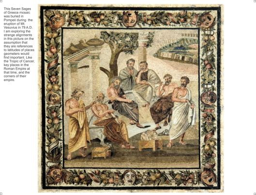 The Seven Sages of Greece mosaic