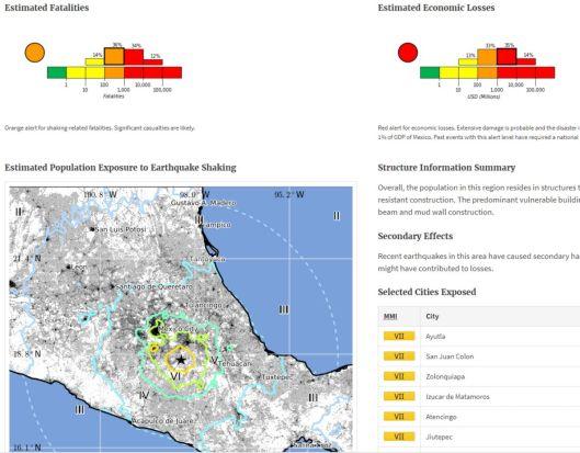 7.1 quake Mexico 2017/09/19