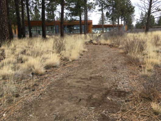 A photograph taken at the UU site in Bend, Oregon